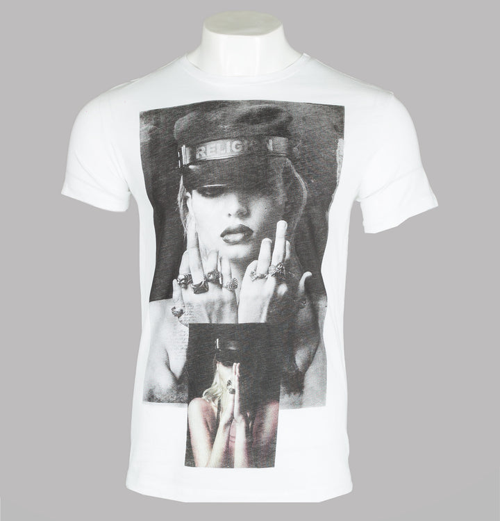 Religion Salute T-Shirt White