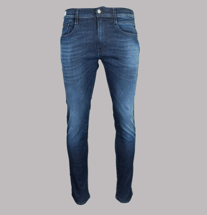 Replay Anbass Slim Fit Hyperflex Clouds Jeans Indigo