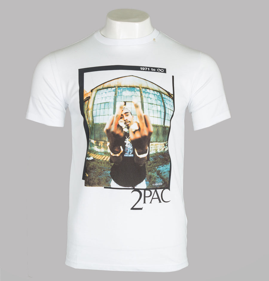Replay Tribute Tupac Limited Edition T-Shirt White