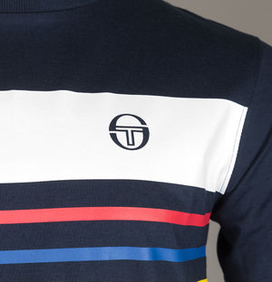 Sergio Tacchini Mayor T-Shirt Total Eclipse