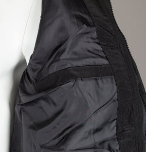 Sik Silk Shiny Puff Parka Black