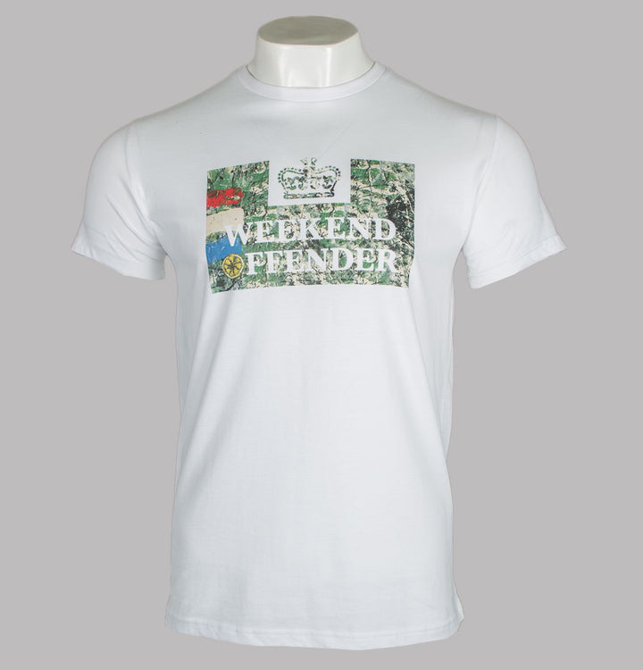 Weekend Offender Bad Man T-Shirt White