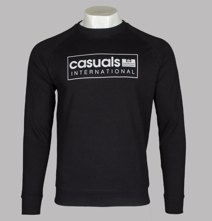 Weekend Offender Casuals International Sweatshirt Black