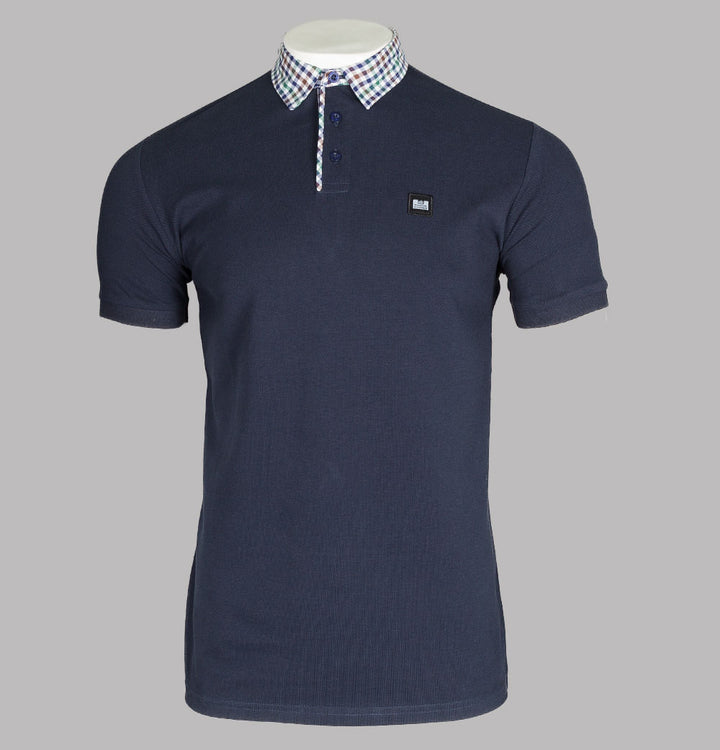 Weekend Offender Geraldton Polo Shirt Navy Blue