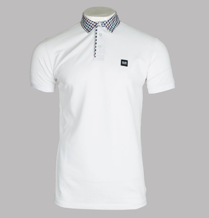 Weekend Offender Geraldton Polo Shirt White