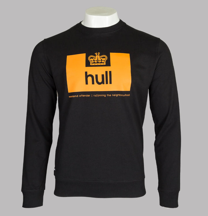 Weekend Offender Hull Edition Sweatshirt Black