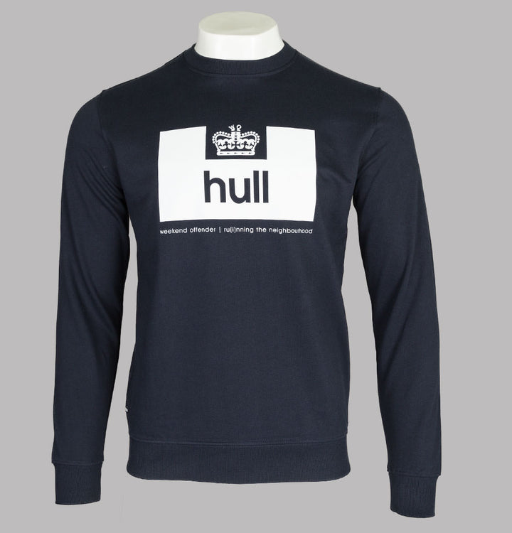 Weekend Offender Hull Edition Sweatshirt Navy