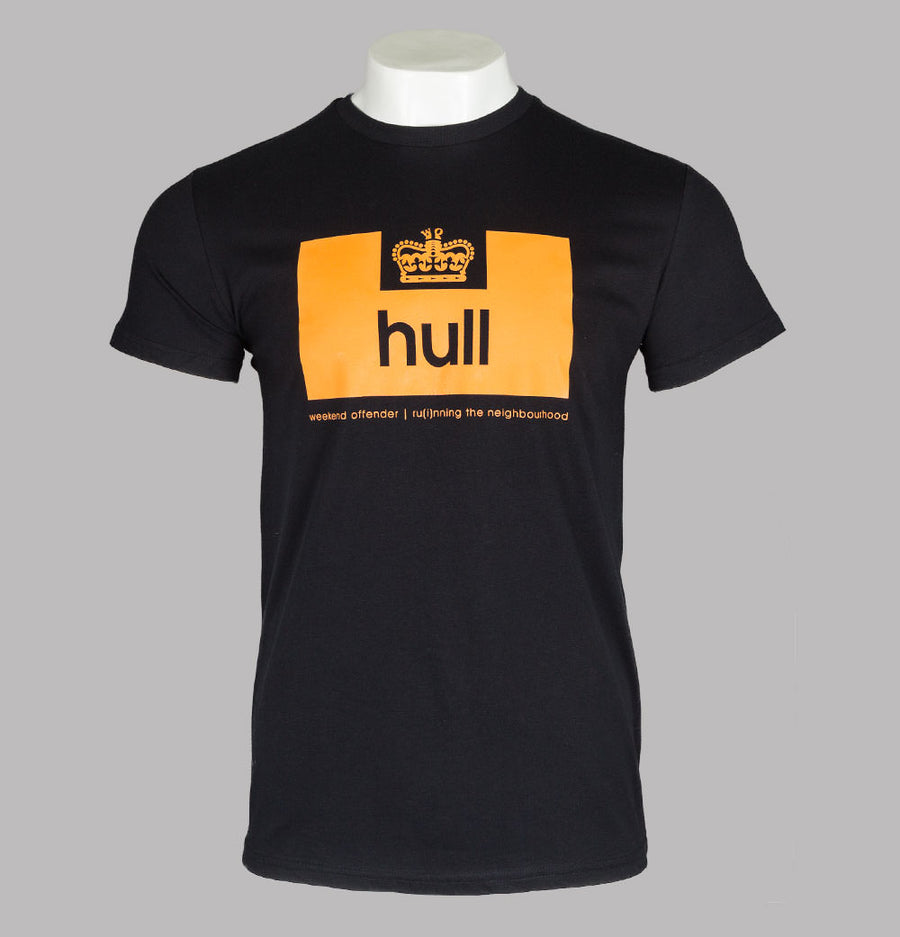 Weekend Offender Hull Edition T-Shirt Black