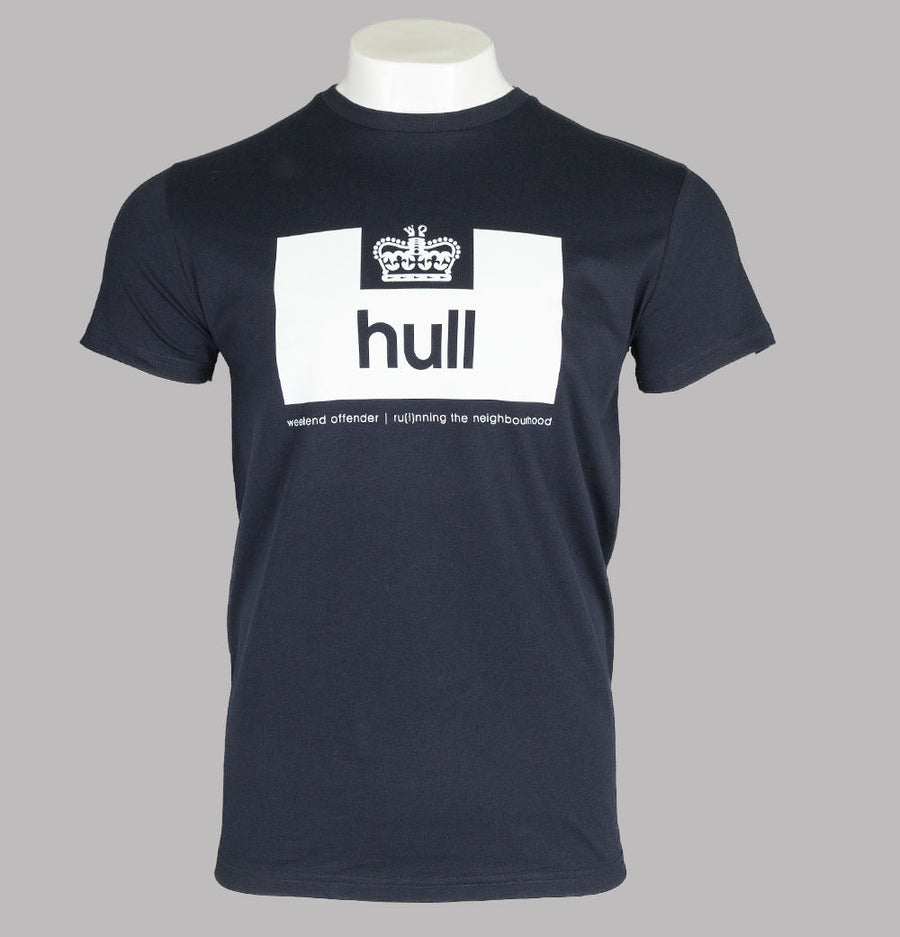 Weekend Offender Hull Edition T-Shirt Navy