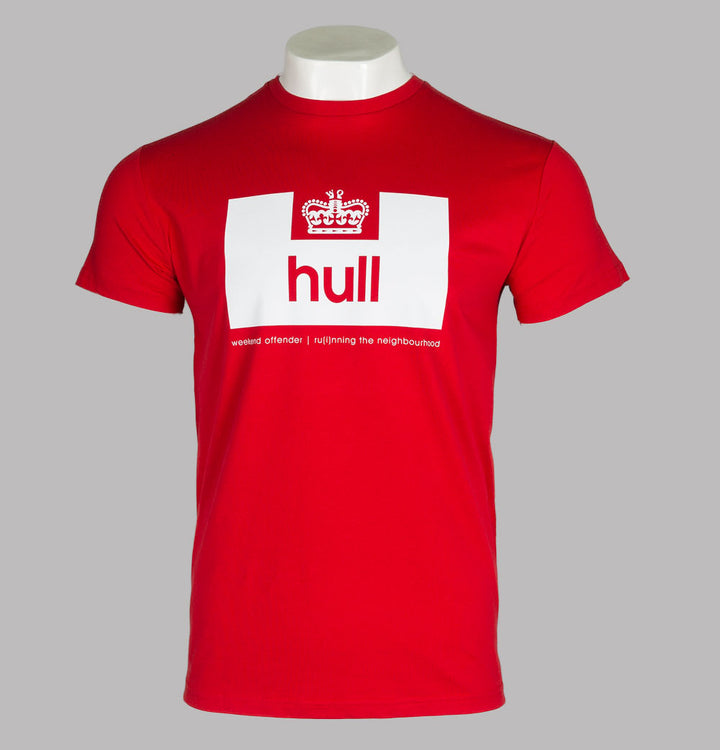 Weekend Offender Hull Edition T-Shirt Red