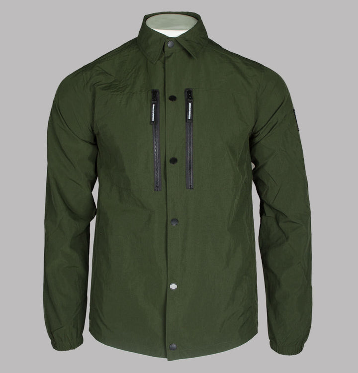 Weekend Offender Nicky Eyes Overshirt Deep Forest