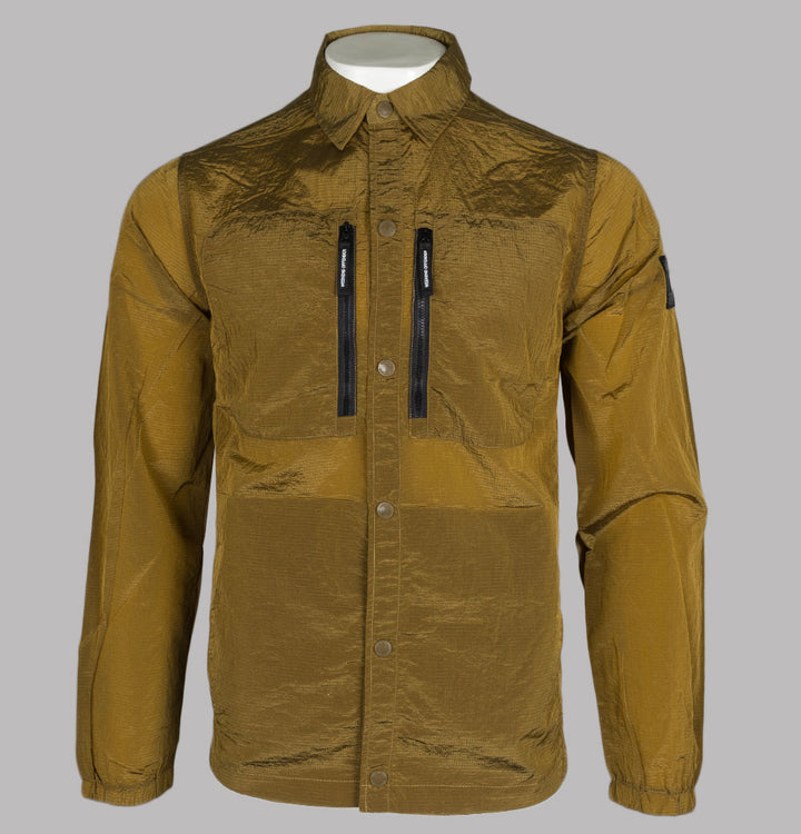 Weekend Offender Nicky Eyes Overshirt Golden