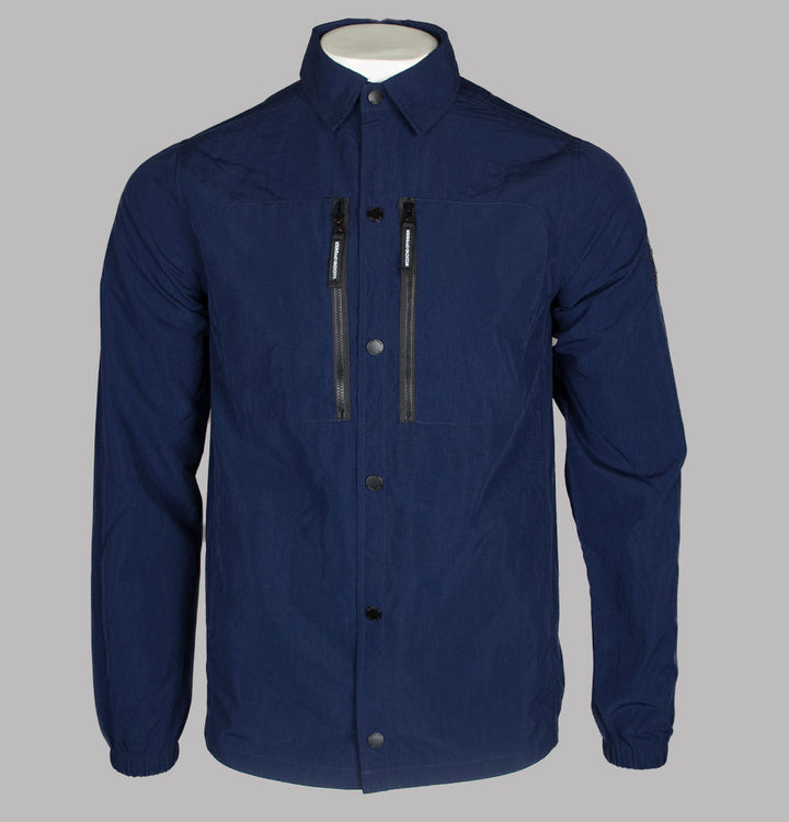 Weekend Offender Nicky Eyes Overshirt Navy