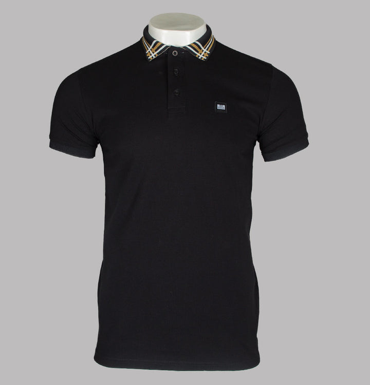 Weekend Offender Rivera Polo Shirt Black