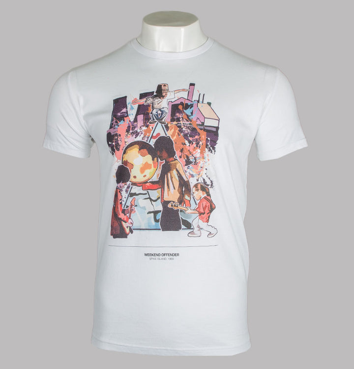 Weekend Offender Spike Island T-Shirt White
