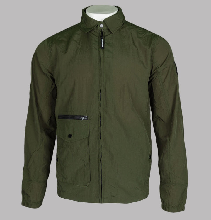Weekend Offender Vinnie Overshirt Dark Army