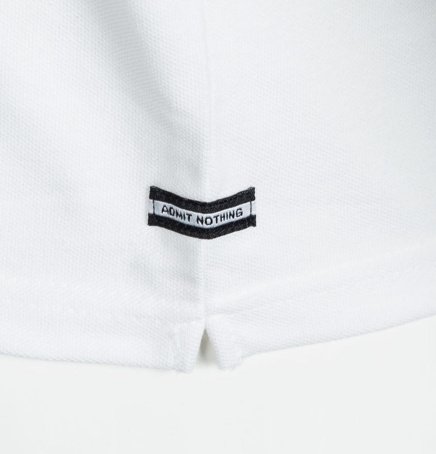 Weekend Offender Liotta Polo Shirt White