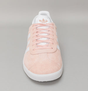 Adidas Gazelle Trainers Vapour Pink/White