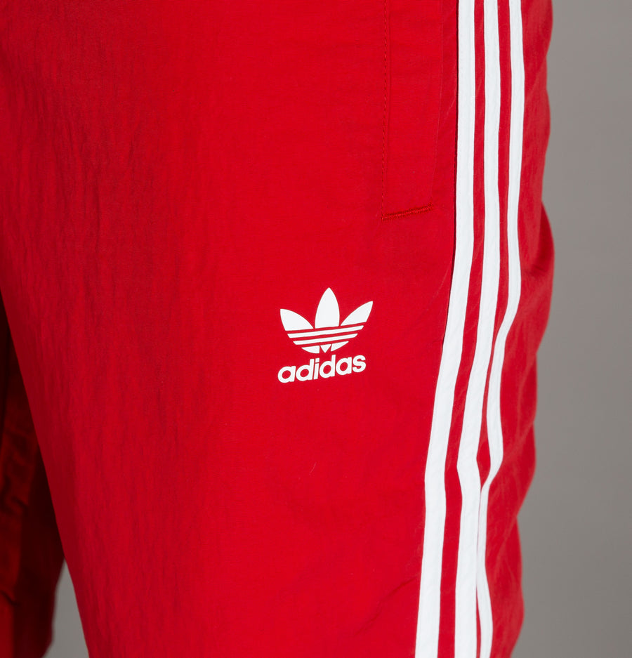 Adidas 3-Stripes Swim Shorts Power Red