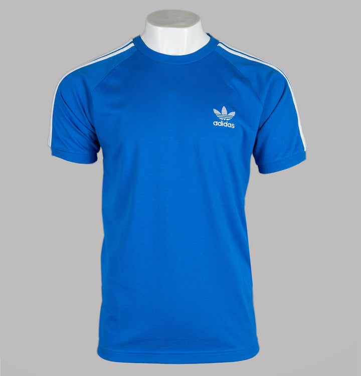 Adidas 3-Stripes T-Shirt Bluebird