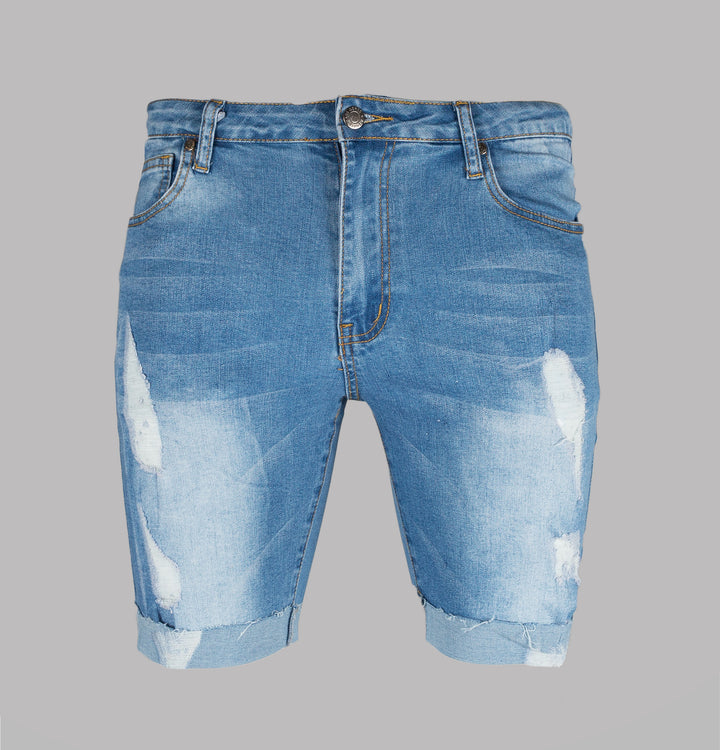 Donnie Distressed Ripped Shorts