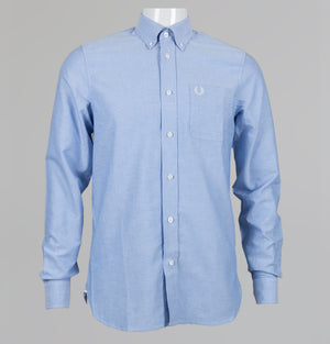 Fred Perry Classic Oxford L/S Shirt Light Smoke