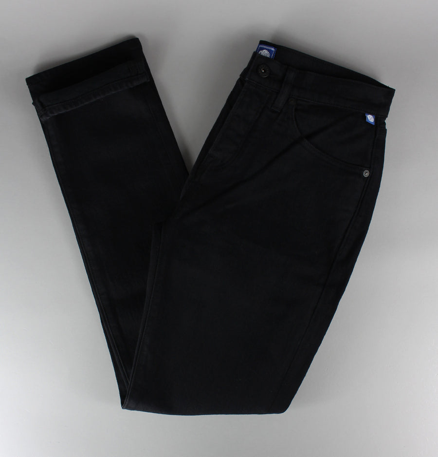 Pretty Green Erwood Slim Fit Jeans Black