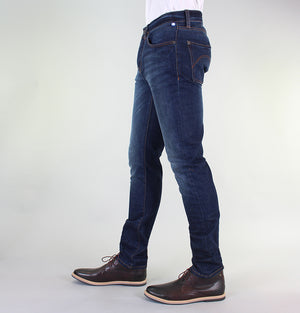 Pretty Green Erwood Slim Fit Jeans 6 Month Wash