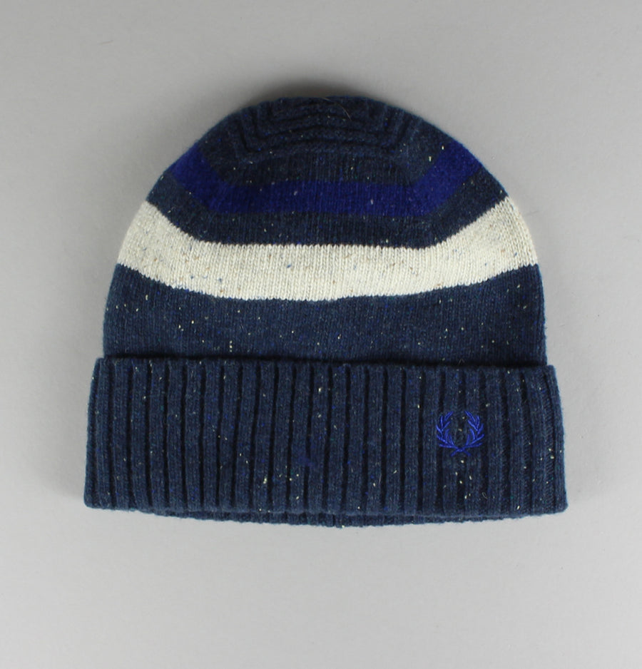 Fred Perry Tipped Beanie Navy