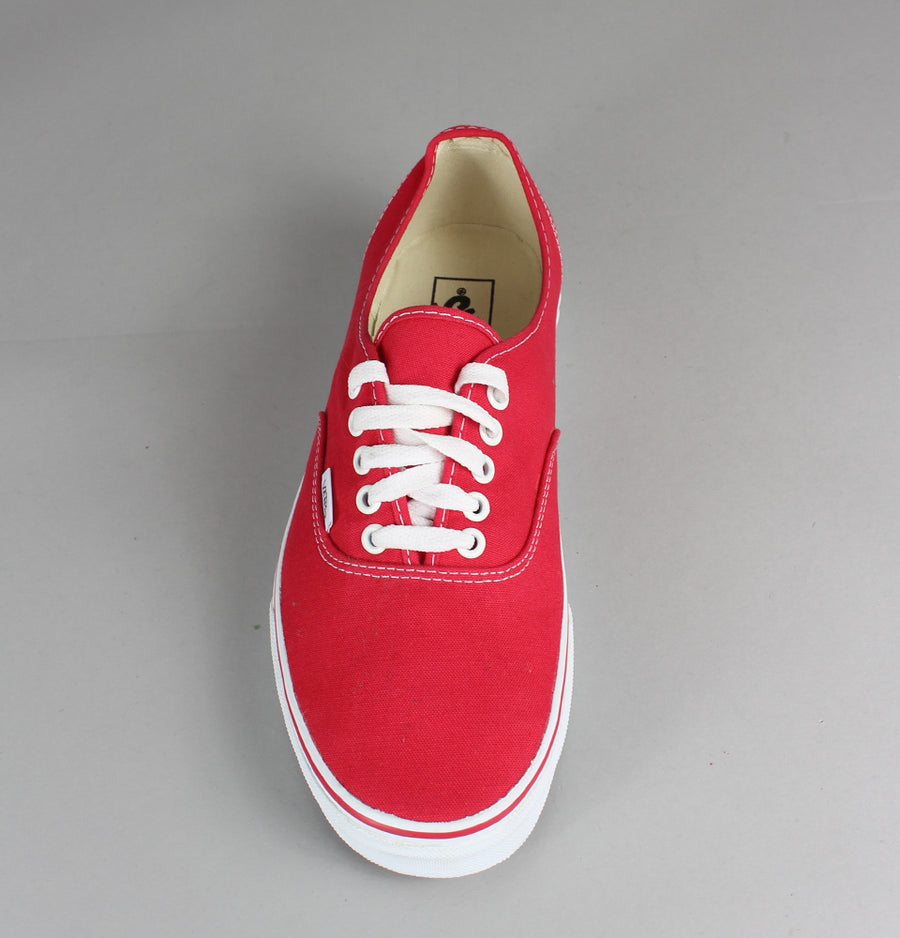 Vans Authentic Shoes Red