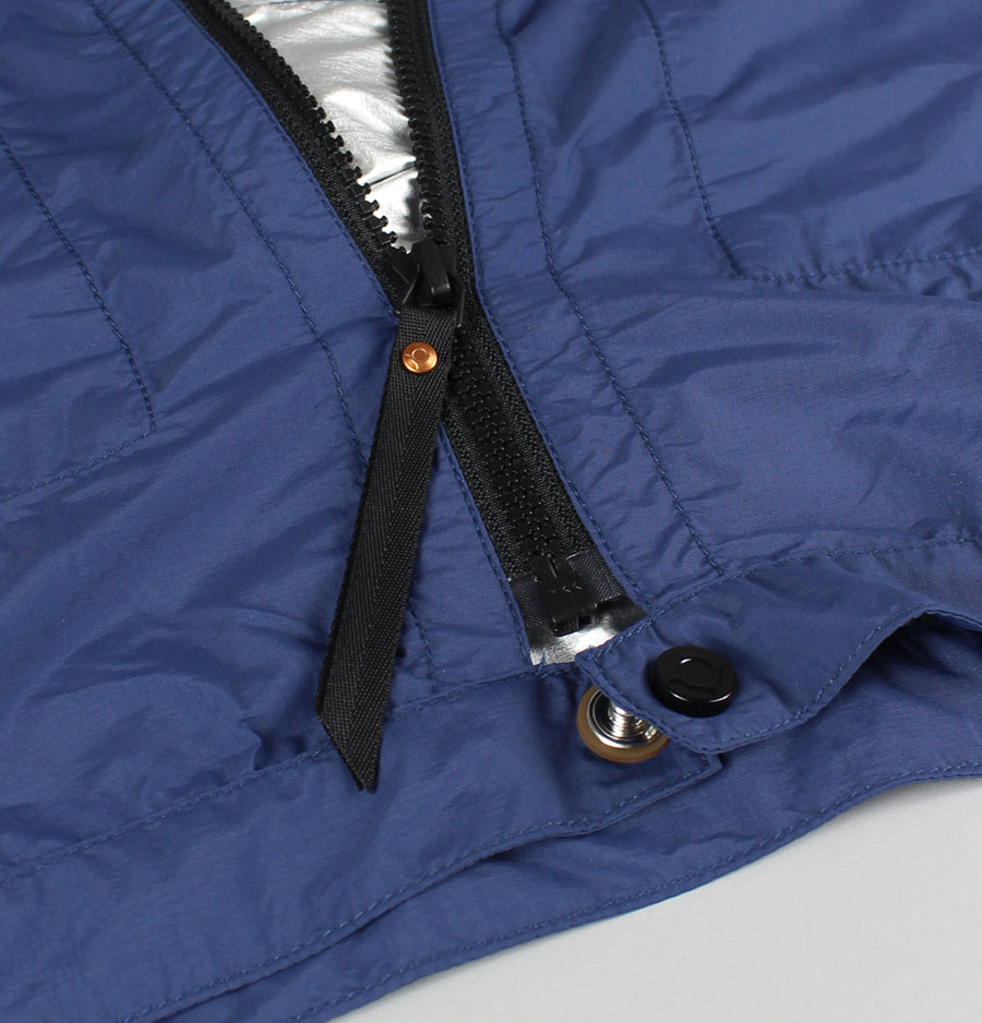 Ma.Strum Packable Rain Tunic Jacket Northern Blue