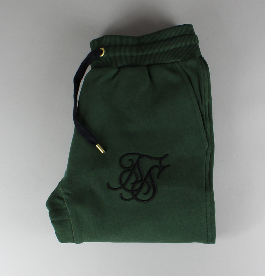Sik Silk Standard Joggers Forest Green