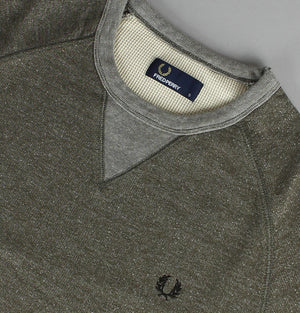 Panelled Crew Neck Sweater