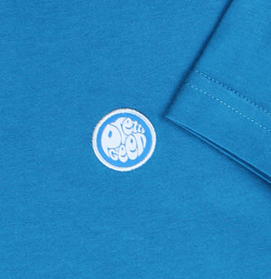 Pretty Green Classic Crew Neck T-Shirt Turquoise