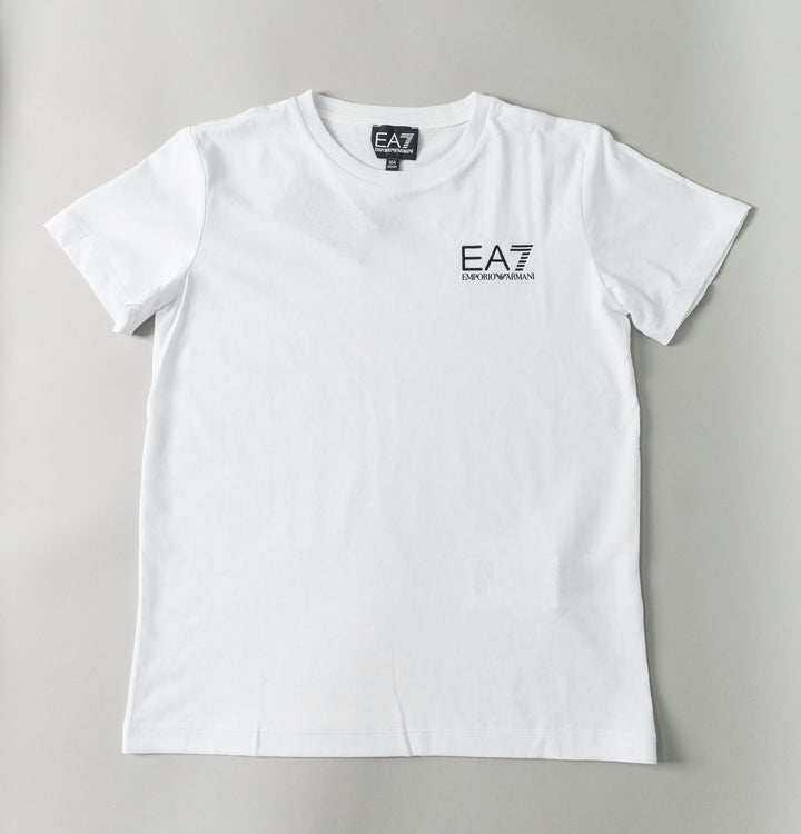 Core Small Logo T-Shirt - White/Black