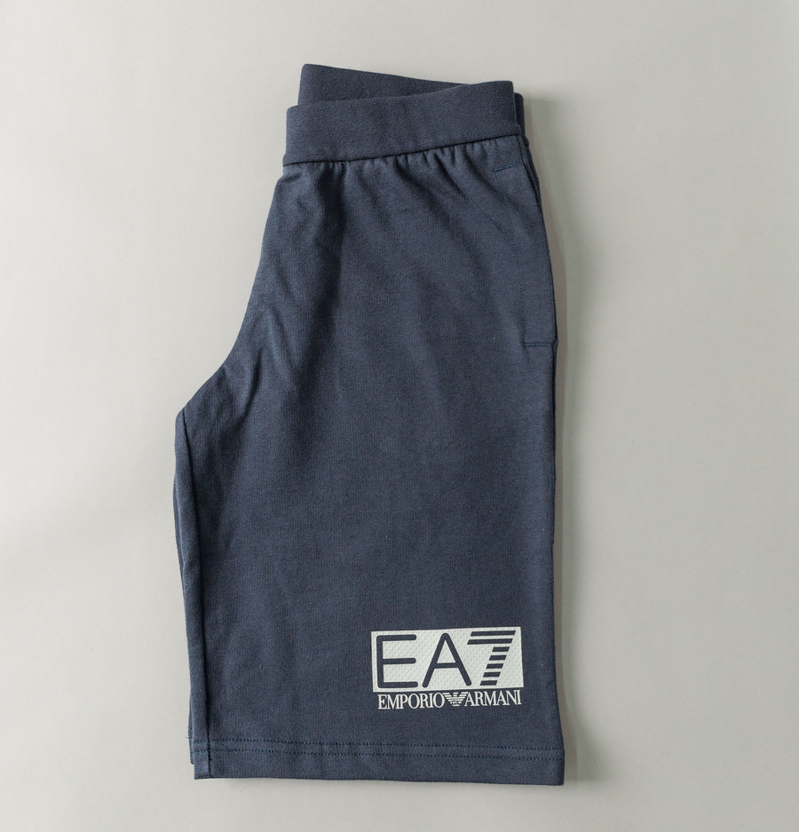 Visibility Logo Shorts - Navy Blue