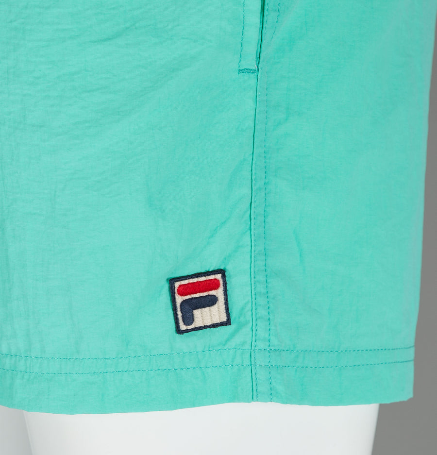 Fila Vintage Artoni Swim Shorts Mint Green
