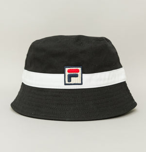 Basil Bucket Hat - Black/White
