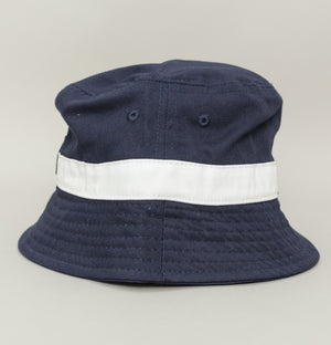 Basil Bucket Hat - Peacoat/White