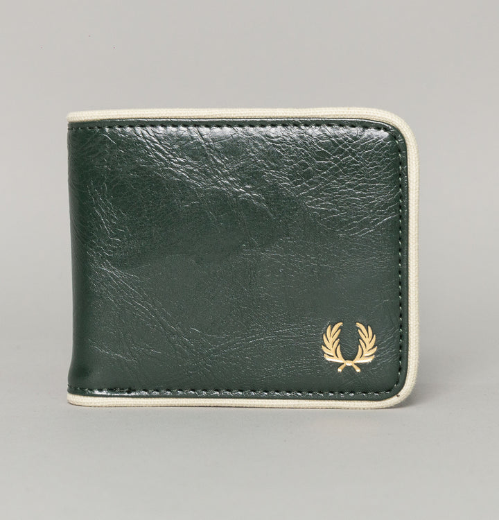 Fred Perry Classic Billfold Wallet Forest Green