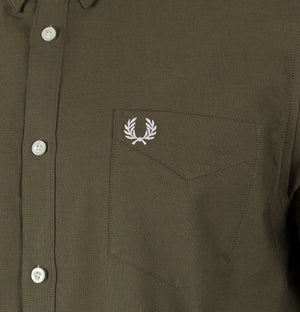 Fred Perry Classic Oxford Shirt Nettle Green