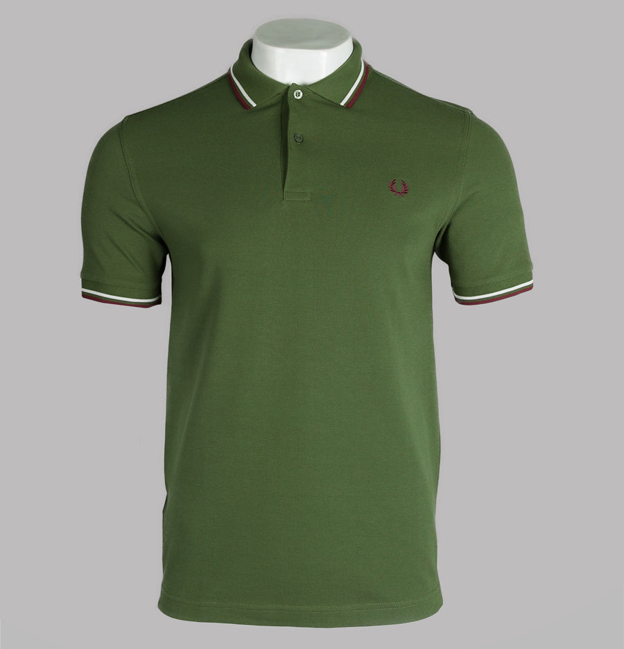 Fred Perry M3600 Polo Shirt Cypress Green