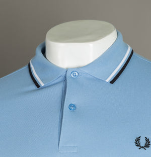 Fred Perry M3600 Polo Shirt Sky Blue