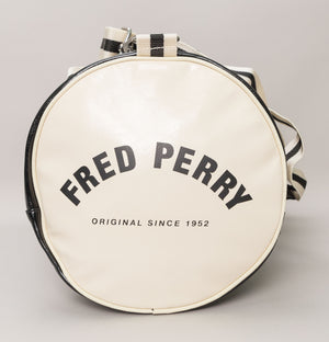 Fred Perry New Classic Barrel Bag Black/Ecru