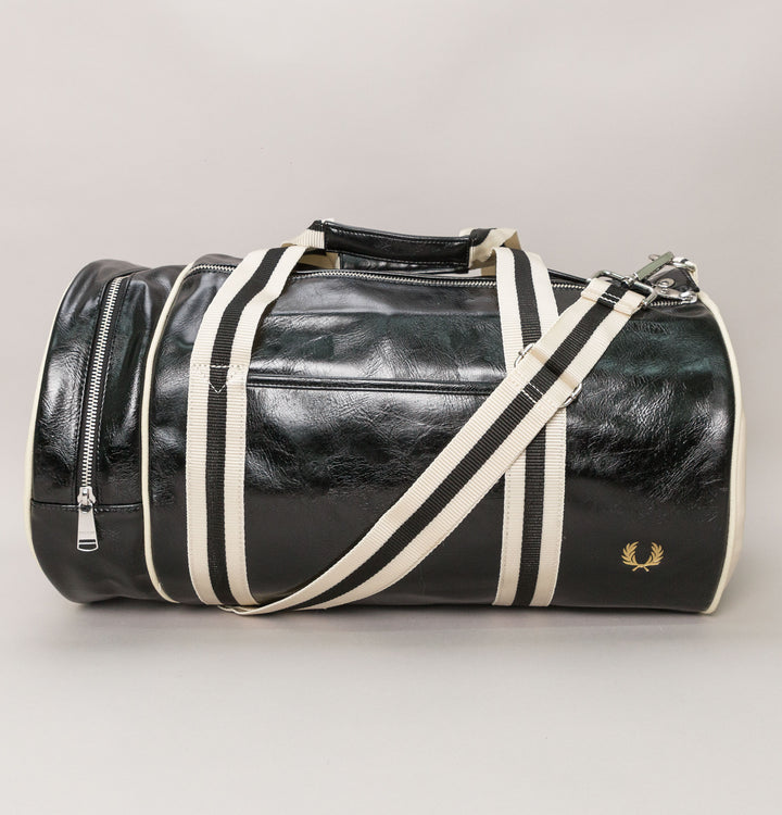New Classic Barrel Bag - Black/Ecru