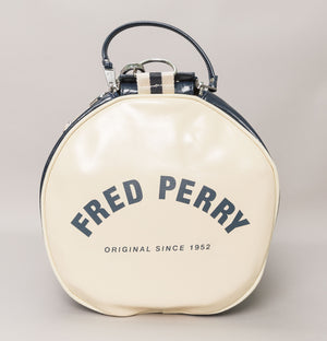 Fred Perry New Classic Barrel Bag Navy/Ecru