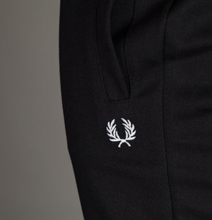 Fred Perry Reverse Tricot Track Pants Black