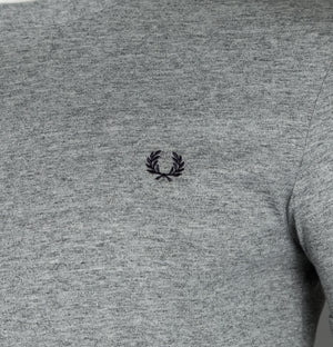 Fred Perry Ringer T-Shirt Vintage Steel