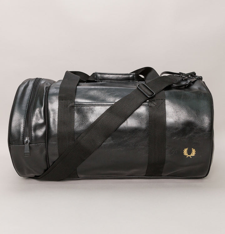 Tonal Barrel Bag - Black