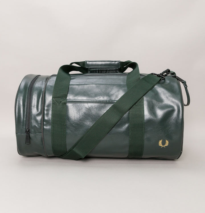 Tonal Barrel Bag - Dark Green